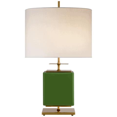 Kate Spade green table lamp