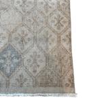 corner view of art decor rug
